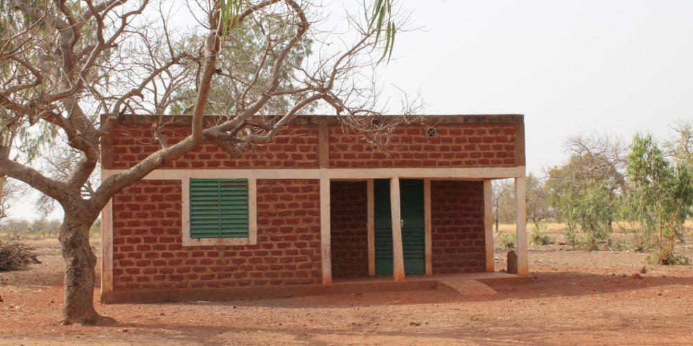 Le poste de santé permet des soins de base, surtout en saison des pluies